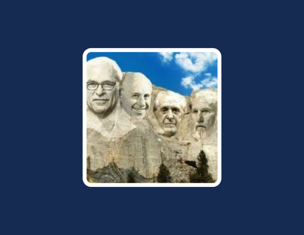 NBA Coaches Mt. Rushmore