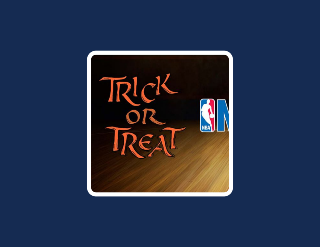 NBA Trick or Treat