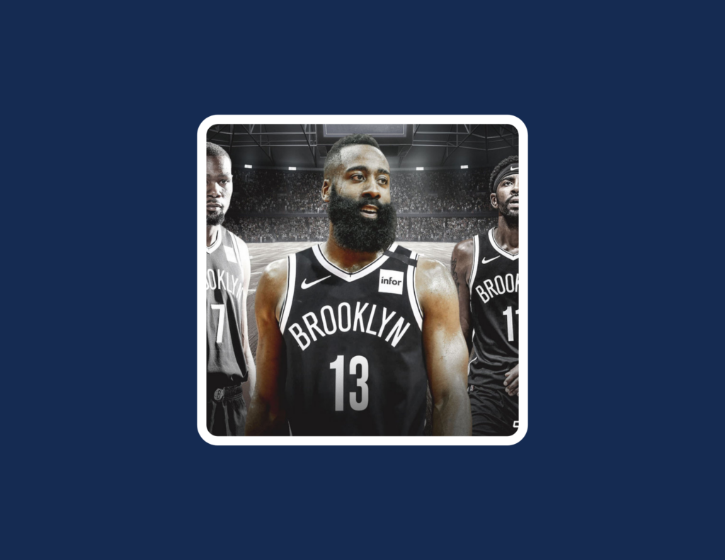 Harden to the Nets!